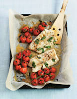 Cod Fillets with Tomato & Rocket