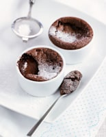 Heavenly Chocolate Puddings