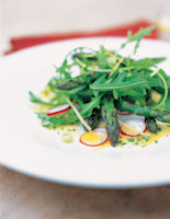 Asparagus with Tarragon Dressing