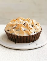 Mile-High Chocolate Meringue Pie