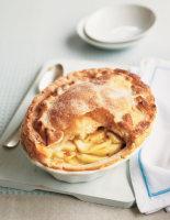 Deep Dish Puff Apple Pie