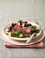 Duck, Pear & Pomegranate Salad