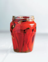 Honey Pickled Chillies