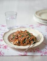 Rabbit & Mushroom Risotto