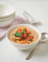 Butter Bean & Chilli Prawn Soup