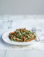 Coconut, Carrot & Spinach Salad