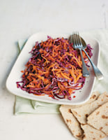 Carrot & Red Cabbage Slaw