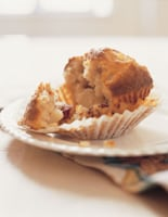 Spiced Pear & Cranberry Muffins