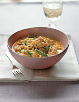 Spicy Thai Crab Noodles