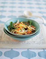 Chicken & Noodle Miso Soup