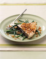 Swordfish with Sage Pangritata
