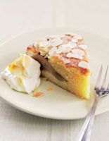 Pear & Almond Cake