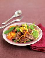 Stir-Fried Duck Breast Salad