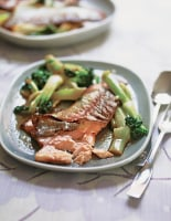 Chinese Tea-Marinated Trout
