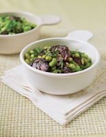 Morcilla with Broad Beans