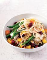 Beetroot & Squash Spaghetti