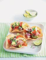 Seared Tuna & Avocado Cups