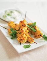 Chicken Tikka Sticks & Fennel Raita