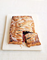 Peach & Blueberry Jalousie