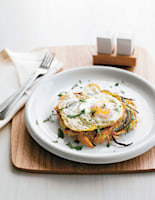 Potato Rösti with Frazzled Eggs