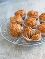 Wholemeal Cheese and Bacon Breakfast Muffins
