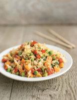 Stir-Fried Vegetable Rice
