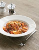 Rich Tomato, Wine and Fish Stew