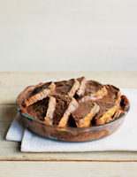 Fruity Chocolate Bread and Butter Pudding