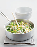 Creamy Pea & Mint Risotto with Brie