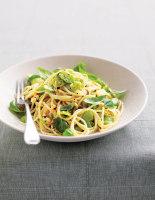 Broad Bean & Lemon Spaghetti