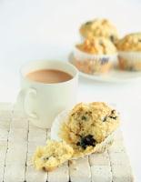 Vanilla, Bran and Blueberry Muffins