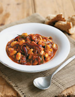 Tomato, Rosemary and Cannellini Bean Stew