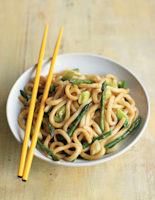 Asparagus and Udon Noodle Stir-Fry