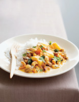 Potato, Chickpea & Cashew Curry