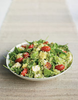 Tricolore Avocado and Couscous Salad