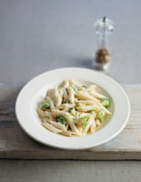 Penne with Broccoli and Blue Cheese Sauce