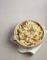 Chicken, Bacon and Asparagus, Pasta Bake