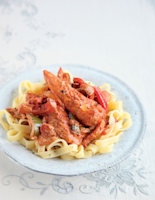 Paprika Chicken with Peppers