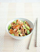 Chicken with Cashews and Oyster Sauce