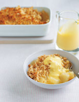 Crunchy Baked Apples and Pears