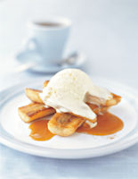 Bananas with Toffee Sauce