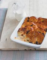Buttery Brioche Pudding