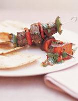 Beef & Pepper Kebabs