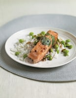 Crispy Rice Paper Salmon Parcels with Soy Dressing