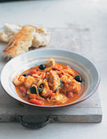 Rich Tomato and Fish Stew