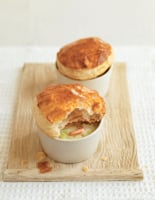 Prawn and Leek Pot Pies