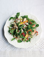 Crab and Mango Salad with Chilli Lime Dressing