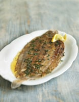 Pan-Fried Dover Sole with Butter and Lemon