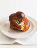 Creamy Oysters and Mushrooms in Brioche Pots