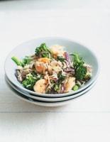 Lemony Prawns and Broccoli Stir-Fry